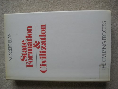 9780631196808: The Civilizing Process: State Formation and Civilization v. 2