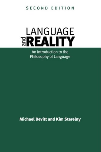 9780631196891: Language and Reality: Introduction to the Philosophy of Language