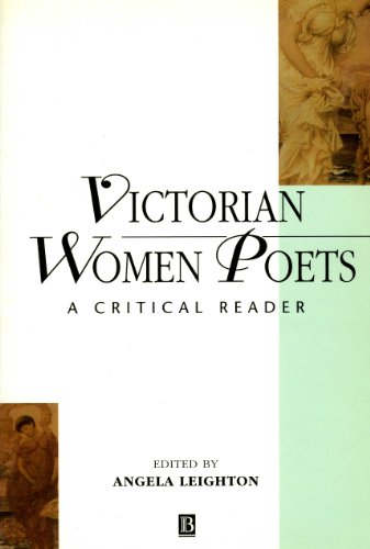 9780631197577: Victorian Women Poets: A Critical Reader (Blackwell Critical Readers in Literature ; 2)
