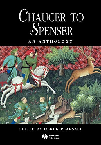 9780631198390: Chaucer to Spenser: An Anthology