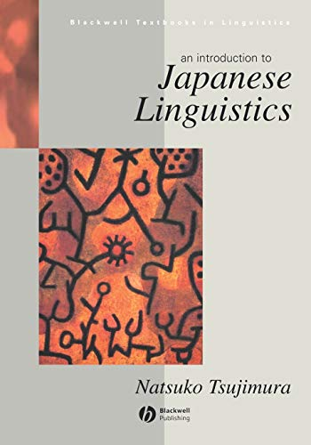 9780631198567: Introduction to Japanese Linguistics