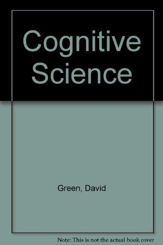 9780631198598: Cognitive Science: An Introduction