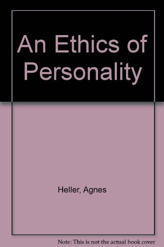 9780631198918: An Ethics of Personality