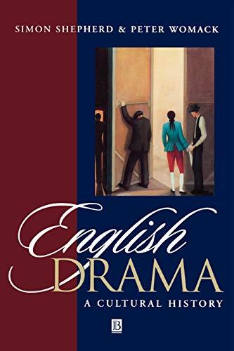9780631199380: English Drama: A Cultural History