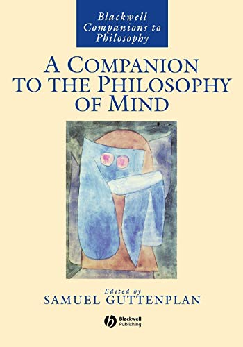 9780631199960: A Companion to the Philosophy of Mind