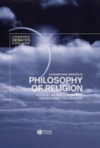 9780631200420: Contemporary Debates in Philosophy of Religion