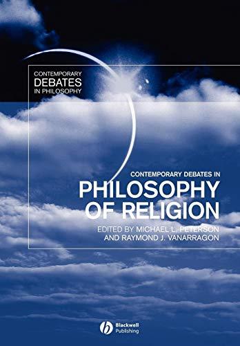 9780631200437: Contemporary Debates in Philosophy of Religion