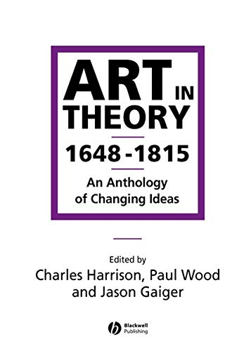 9780631200642: Art in Theory 1648-1815: An Anthology of Changing Ideas