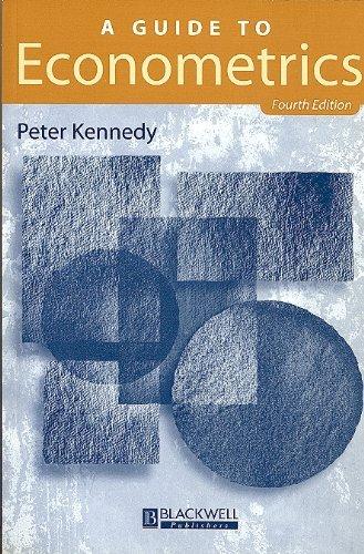 9780631200888: A Guide to Econometrics