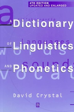 9780631200970: A Dictionary of Linguistics and Phonetics (Language Library)