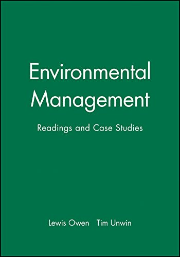 9780631201168: Environmental Management: Readings and Case Studies (Blackwell Readers on the Natural Environment)