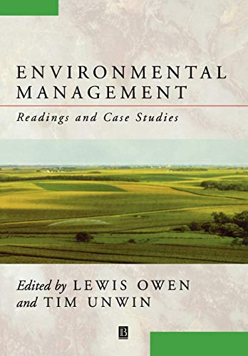 9780631201175: Environmental Management: Readings and Case Studies (Blackwell Readers on the Natural Environment)