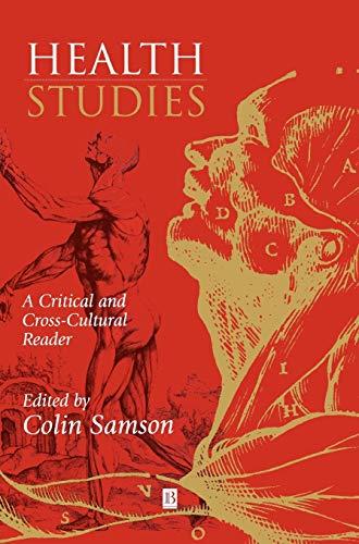 9780631201892: Health Studies: A Critical and Cross-Cultural Reader