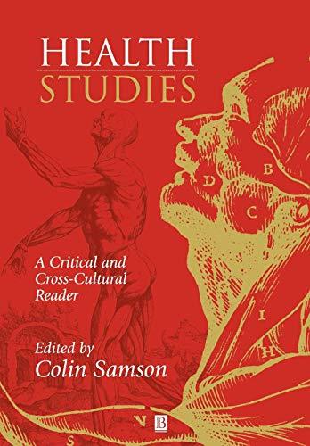 9780631201908: Health Studies: A Critical and Cross-Cultural Reader
