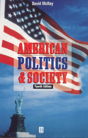 9780631202578: American Politics and Society