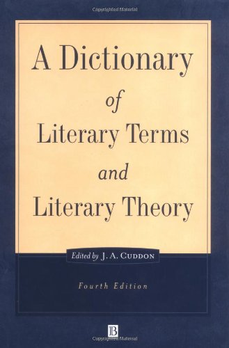 9780631202714: A Dictionary of Literary Terms and Literary Theory (The Language Library)