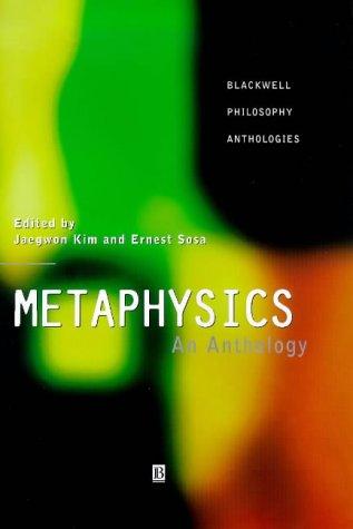 9780631202783: Metaphysics: An Anthology (Blackwell Philosophy Anthologies)