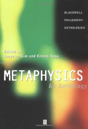 9780631202790: Metaphysics: An Anthology (Blackwell Philosophy Anthologies)