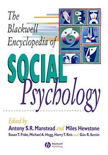 9780631202899: The Blackwell Encyclopedia of Social Psychology