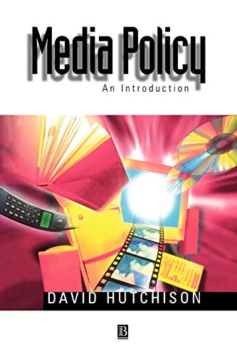 9780631204343: Media Policy: An Introduction