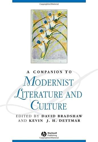 9780631204350: A Companion to Modernist Literature and Culture