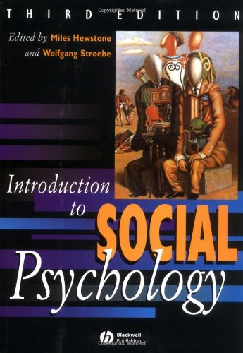 9780631204374: Introduction to Social Psychology: A European Perspective