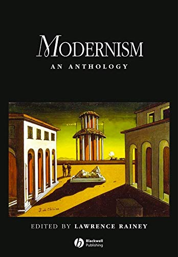 9780631204497: Modernism: An Anthology (Blackwell Anthologies)