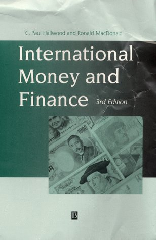 9780631204619: International Money and Finance, Third Edition