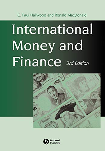 9780631204626: International Money and Finance