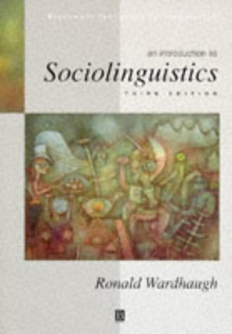 9780631204992: An Introduction to Sociolinguistics (Blackwell Textbooks in Linguistics)