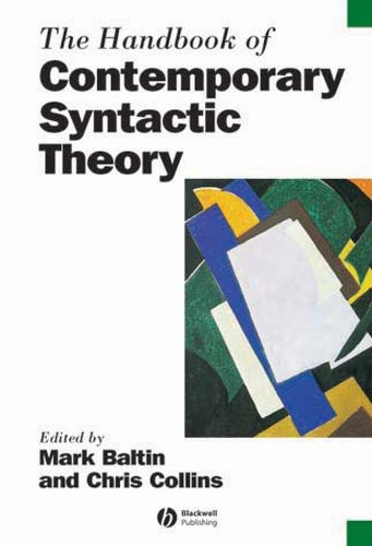 9780631205074: The Handbook of Contemporary Syntactic Theory (Blackwell Handbooks in Linguistics)
