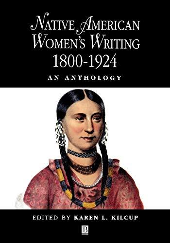 9780631205180: Native American Women's Writing: An Anthology c. 1800 - 1924