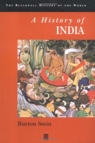 9780631205463: A History of India (Blackwell History of the World)