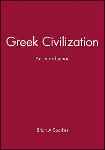 9780631205586: Greek Civilization: An Introduction