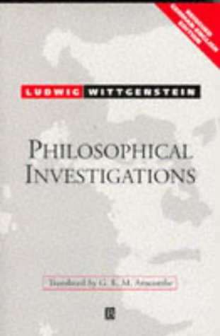 9780631205692: Philosophical Investigations