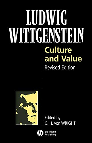 9780631205715: Culture and Value Rev