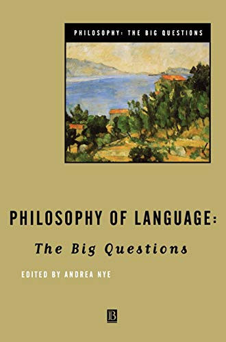 9780631206019: Philosophy of Language: The Big Questions (Philosophy: The Big Questions)