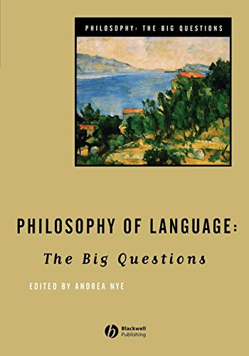 9780631206026: Philosophy of Language: The Big Questions