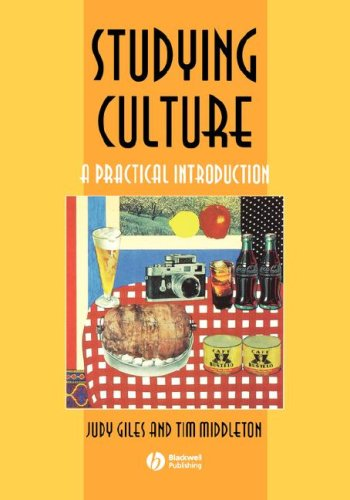 9780631206224: Studying Culture: A Practical Introduction