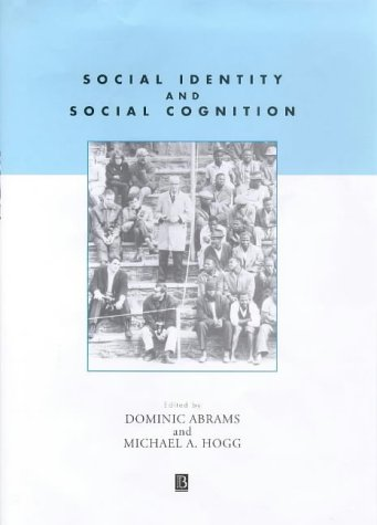 9780631206422: Social Identity and Social Cognition