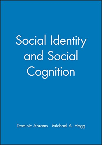 9780631206439: Social Identity and Social Cognition