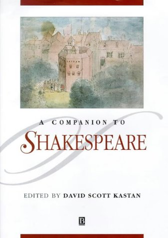 9780631206651: A Companion to Shakespeare (Blackwell Companions to Literature and Culture)