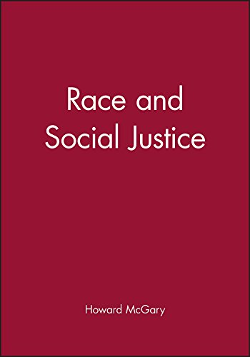 9780631207207: Race and Social Justice