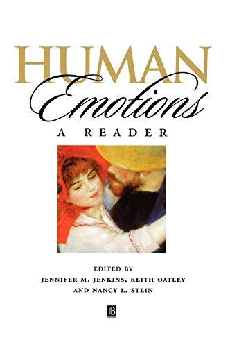 9780631207474: Human Emotions: A Reader