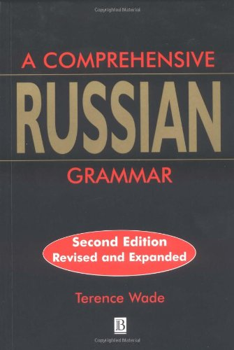 9780631207573: Comprehensive Russian Grammar (Blackwell Reference Grammars)