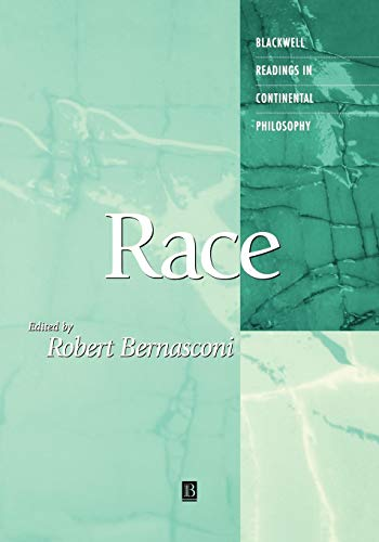 9780631207832: Race (Blackwell Readings in Continental Philosophy)