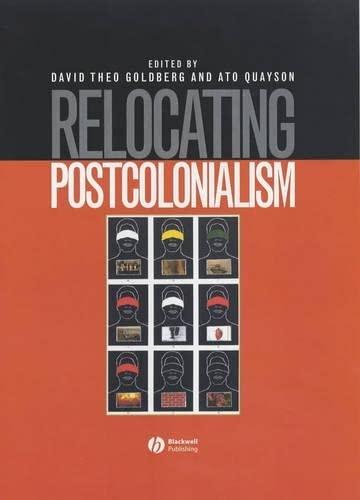 9780631208044: Relocating Postcolonialism