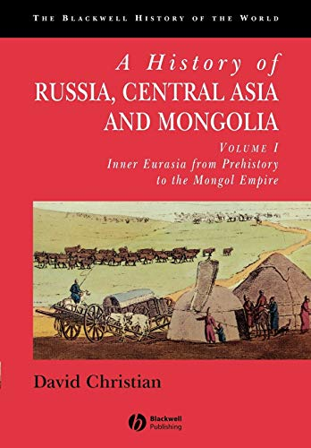 9780631208143: A History of Russia, Central Asia and Mongolia, Vol. 1: Inner Eurasia from Prehistory to the Mongol Empire
