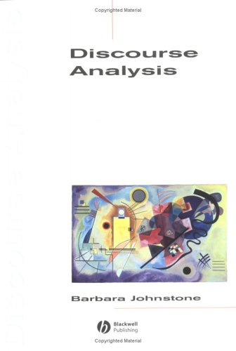 9780631208778: Discourse Analysis (Introducing Linguistics)