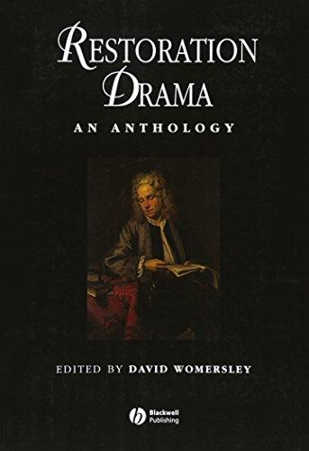 9780631209034: Restoration Drama: An Anthology